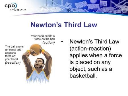 an introduction to newtons theory of action and reaction Action-reaction force pairs 19 lessons in chapter 4: newton's laws in physics: help and review 1 relativity & quantum theory in modern.