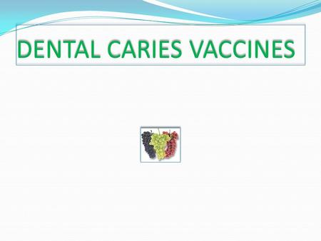 DENTAL CARIES VACCINES