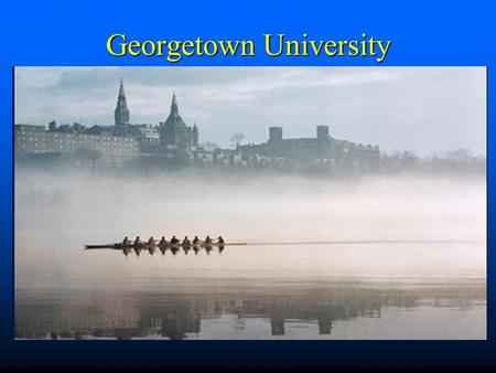 Georgetown University. Congruity and Incongruity in the Evolving Telecommunications Industry John W. Mayo Georgetown University (202)