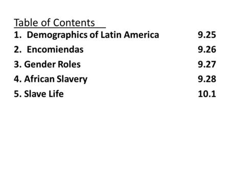 the long term impact of the atlantic slave trade on social divisions in the americas Free term papers & essays - effects of atlantic slave trade, american history.