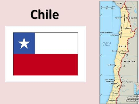 Chile. The capital of Chile is Santiago Wheat, corn, beans, grapes, timber, fish and beef are the common agriculture produce. One of the fun facts about.