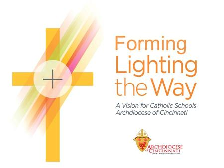 Forming. Context 113 Catholic elementary and secondary schools in 19 counties of southwest Ohio Demographic, financial, programming, and enrollment challenges.