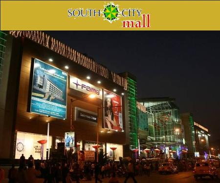 'SOUTH CITY' is a mixed use development on 31.14 acres of land in South Kolkata having 5 Residential towers comprising of 1675 flats, Club, School and.