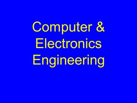 Computer & Electronics Engineering. Objectives Understand Digital Logic Gates Construct & Simulate Digital Logic Circuits on the Computer.