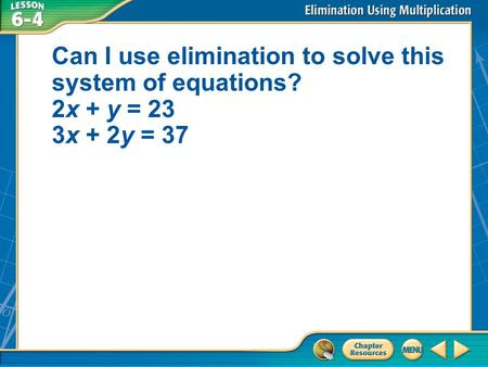 Solving Word Problems Using Linear Equations