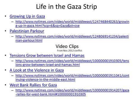 Life in the Gaza Strip Growing Up in Gaza –  g-up-in-gaza.html?scp=6&sq=Gaza&st=cse