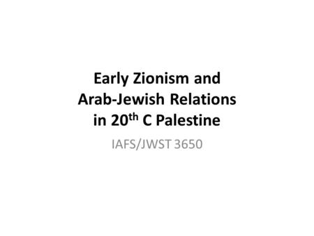 Israel Studies An Anthology : The Israeli-Arab War of 1948