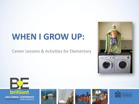 WHEN I GROW UP: Career Lessons & Activities for Elementary.