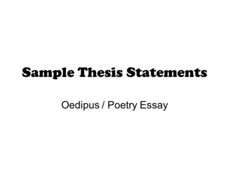 an essay on man by maddy lambert luke gallagher and ryan  sample thesis statements oedipus poetry essay sample 1 billy collins aristotle illuminates