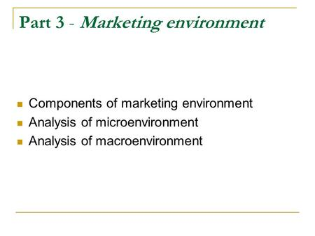 microenvironment and macroenvironment of xerox company There are two kinds of external marketing environments micro and macro these  environments' factors are beyond the control of marketers but.