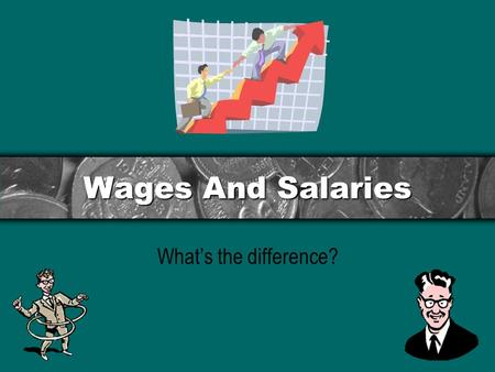 "Wages And Salaries What's the difference?. Contents To answer the question ""What's the difference"" the answer is simple… Wages are paid weekly, often."