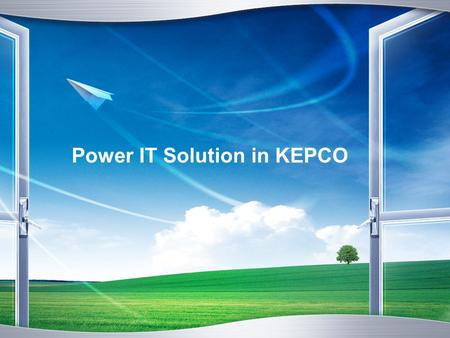 Power IT Solution in KEPCO. www.themegallery. com Contents Introduction 1 EIS in KEPCO 2 Results of EIS 3 Future Expansion 4 You can briefly add outline.