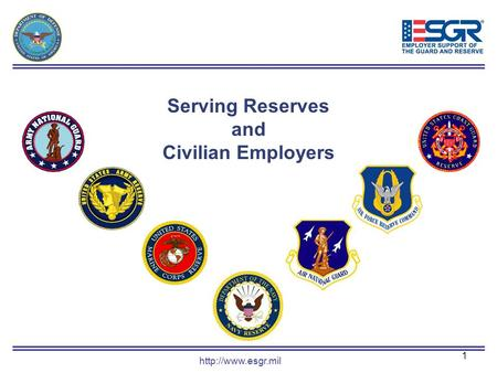 1 Serving Reserves and Civilian Employers.