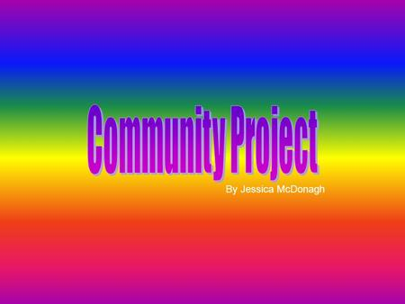 By Jessica McDonagh. What is my community project about? My community project is going to help someone create nail art on themselves and on their friends.