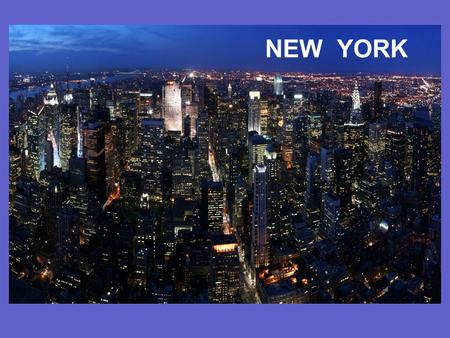Текст NEW YORK. The city started in 1620s. In 1800s it had already become the heart of American business. Nowadays, New York is the world's centre of.