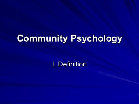 community and health psychology impact on Community health psychology is concerned with the theory and method of working with communities to combat disease and to promote health this introductory article outlines key assumptions and debates underlying this area of research and practice—in the interests of framing the papers in this special edition of the journal of health psychology.