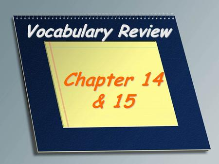 Vocabulary Review Chapter 14 & 15. Mendel's true breeding generation P or parental generation.