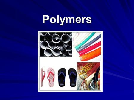 Polymers. Polymers Large chain like molecules that are built from small molecules called monomers. Many important biomolecules are also natural polymers.