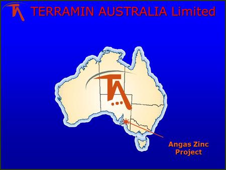 TERRAMIN AUSTRALIA Limited Angas Zinc Project. Angas Zinc Project: traffic Raised as a concern through Stakeholder consultation process Dominant source.