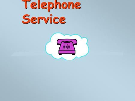 Telephone Service. 2 PSTN l The Public Switched Telephone Network l Worldwide l A call may cross many telephone company boundaries l Also Known as POTS.