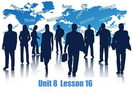 Unit 8 Lesson 16. Pair Work A Role Play B Part 2 Business Speaking.