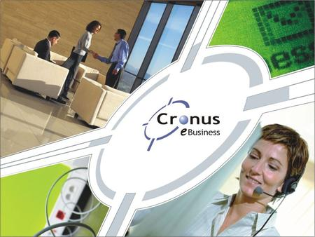Welcome! Stands for integration.  Cronus eBusiness Delivers Internet Protocol Contact Center Solutions  Speaker: Laurentiu Zanca.