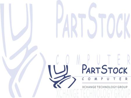 Agenda PartStock Company Overview Service Model Value Added Services Lifecycle Management Products Why Choose PartStock?