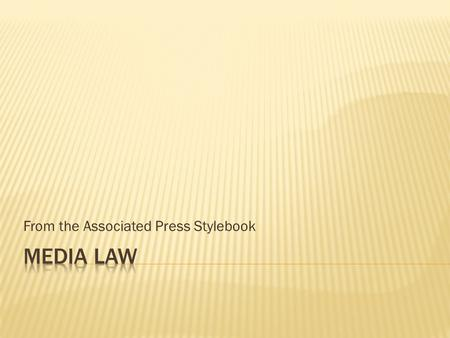 From the Associated Press Stylebook.  At its most basic, libel means injury to reputation. Words, pictures, cartoons, photo captions and headlines can.