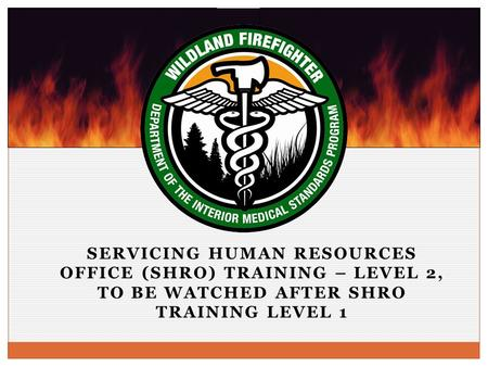 SERVICING HUMAN RESOURCES OFFICE (SHRO) TRAINING – LEVEL 2, TO BE WATCHED AFTER SHRO TRAINING LEVEL 1.
