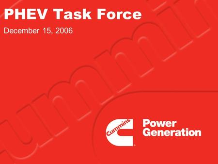 PHEV Task Force December 15, 2006. 2 Legislative direction:  HF 3718 Sec 3. Subd. 4. Charge. (a) The plug-in hybrid electric vehicle task force shall.