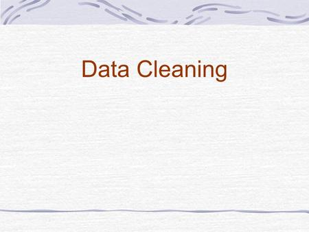 "Data Cleaning. Understanding Discrepancies Discrepancies are ""Inconsistencies"" found in the clinical trial data which need to be corrected as per the."