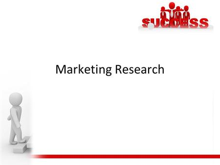 Marketing Research.