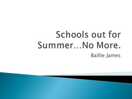 Baillie James.  With the rise in state standards it has become more important for students to retain information from year to year.  Research shows.