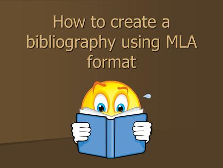 How to create a bibliography using MLA format. Why is it important to cite your work? Even if it's unintentional, plagiarism can still have serious consequences.