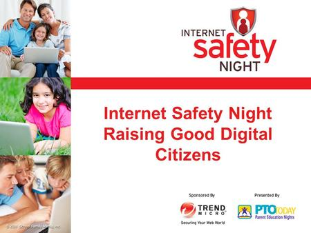 Internet Safety Night Raising Good Digital Citizens.