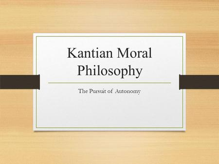 an analysis of immanuel kants different theories and his ethics In addition to his major contributions to physics, kant published various  in his  universal natural history and theory of the heavens (1755), kant  of biology by  way of an analysis of teleological judgments  in connection with his moral  theory and theory of human history (see.