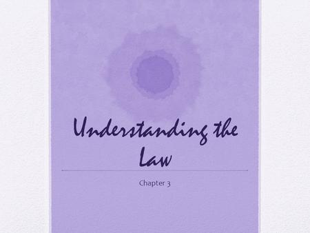 Understanding the Law Chapter 3. PL 94-142 3 years- 21 years old Free appropriate education Least restrictive environment.