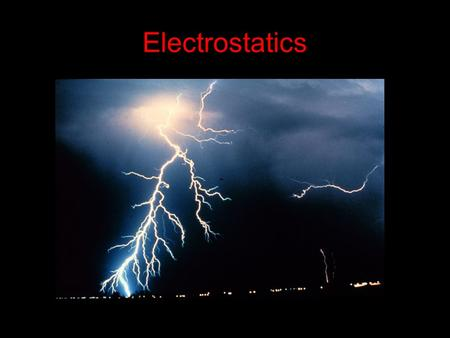 Electrostatics. The Musical genius of Tesla? Electricity come from the Greek word Elektron Meaning Amber. Electrostatics is the study of electricity.