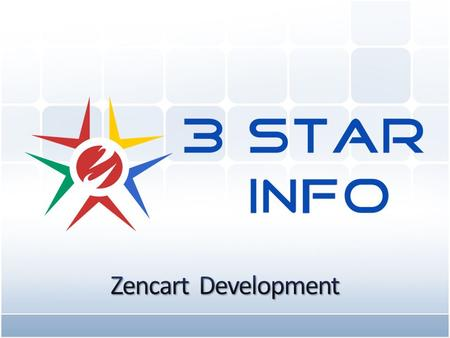 www.3stargroup.com Zen cart is an open source online shopping cart software/store management system which is a form of e-commerce. It based on PHP which.