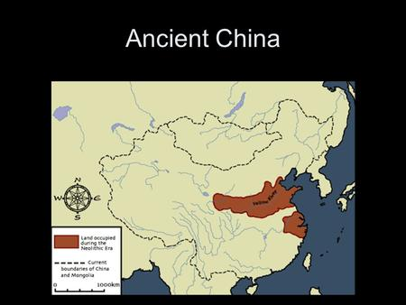 Ancient China. Location North - Yellow river valley –Grew Wheat South – Yangtze river valley –Grew Rice.
