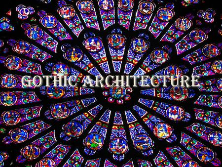 Gothic Architecture. Architecture in the Gothic Period Began around 1200 and lasted until 1600 in Western Europe. Buildings constructed during this period.