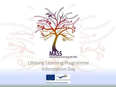 Lifelong Learning Programme Information Day. INTRODUCTION.