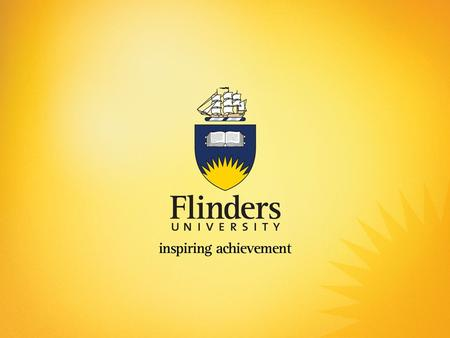 Student Service Delivery Project (Flinders Connect Project) (Student Experience Project) (CRM Project) Office of Pro Vice Chancellor (Information Services)