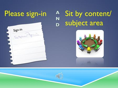 Please sign-in Sign-in Sit by content/ subject area.