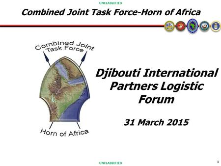 Djibouti International Partners Logistic Forum