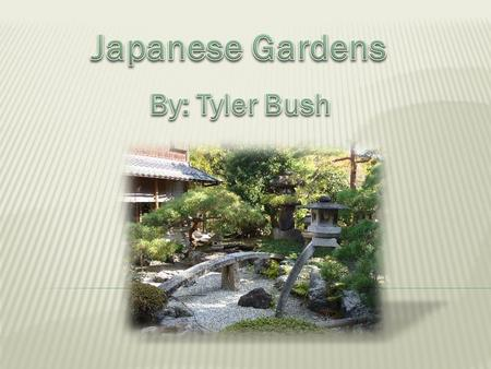 A Japanese Garden to most people is a bunch of rocks, plants, and various other items. That is not even close. A Japanese Garden is a way for people to.