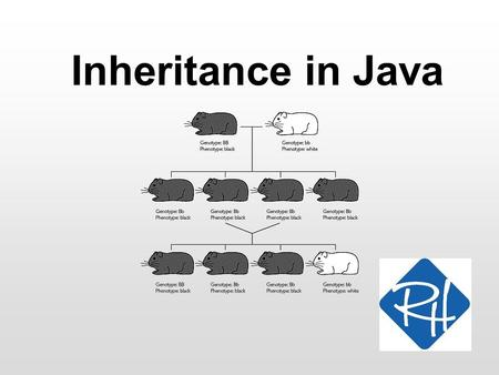 Inheritance in Java. RHS – SOC 2 What is inheritance (in Java)? Inheritance is a mechanism for enhancing existing classes What does that mean…? Defining.