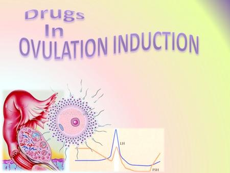 By the end of this lecture you will be able to: Recall how ovulation occurs and specify its hormonal regulation Classify ovulation inducing drugs in relevance.