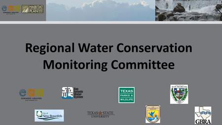 Regional Water Conservation Monitoring Committee.