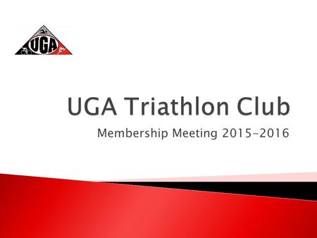 Membership Meeting 2015-2016. Haynes Curtis Major: Mechanical Engineering Triathlon Background: 2.31 years Sprint, Olympic, Half- Ironman My job as President: